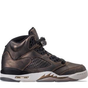Girls' Grade School Air Jordan Retro 5 Premium Heiress Collection (3.5y - 9.5y) Basketball Shoes Product Image