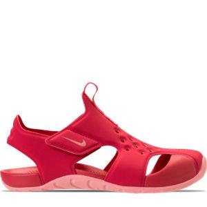 Girls' Preschool Nike Sunray Protect 2 Hook-and-Loop Sandals