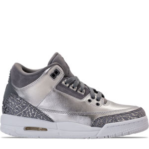 Girls' Grade School Air Jordan Retro 3 Premium Heiress Collection (3.5y - 9.5y) Basketball Shoes