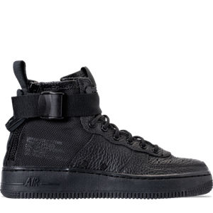 Boys' Grade School Nike SF Air Force 1 Mid Casual Shoes