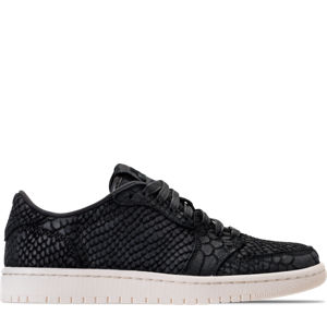 Women's Air Jordan Retro 1 Low No Swoosh Energy Casual Shoes Product Image