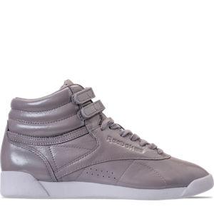 Women's Reebok Freestyle Hi Iridescent Casual Shoes