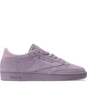 Women's Reebok Club C 85 Nubuck Casual Shoes Product Image