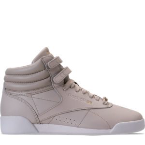 Girls' Grade School Reebok Freestyle Hi Muted Casual Shoes Product Image