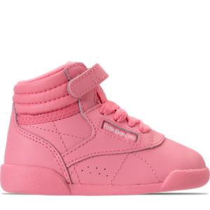 Girls' Toddler Reebok Freestyle Hi Casual Shoes