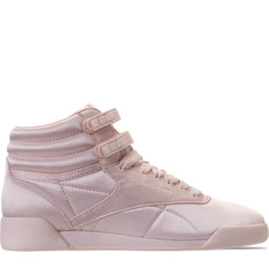 Girls' Grade School Reebok Freestyle Hi Lux TXT Casual Shoes