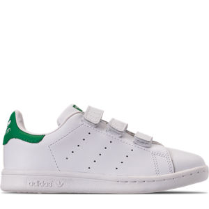 Boys' Preschool adidas Originals Stan Smith Hook-and-Loop Closure Casual Shoes Product Image